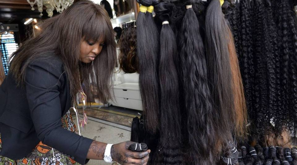 Hair extensions and wigs are a $5 billion market in the U.S.