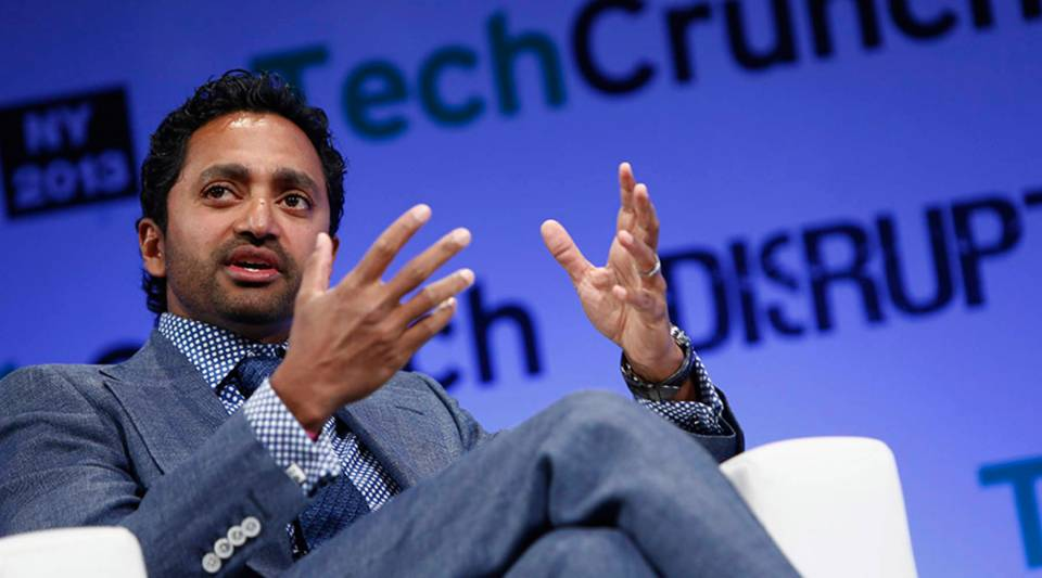 Chamath Palihapitiya speaks onstage at the TechCrunch Disrupt NY 2013 at The Manhattan Center on April 29, 2013 in New York City.
