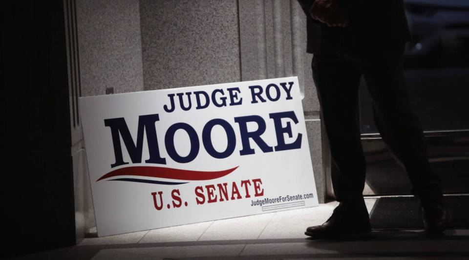Roy Moore, former chief justice of the Alabama Supreme Court, is running for the U.S. Senate seat vacated when Jeff Sessions was appointed U.S. Attorney General by President Donald Trump.