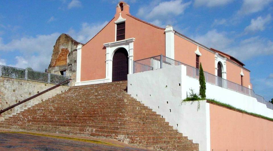 A view of Porta Coeli in San German, Puerto Rico.
