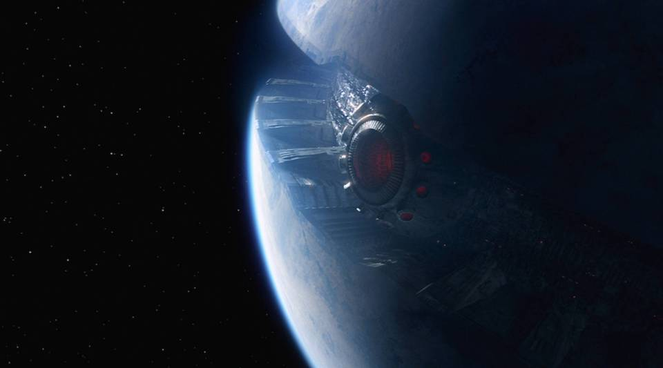 Starkiller Base, in all its sun-extinguishing, planet-destroying glory.