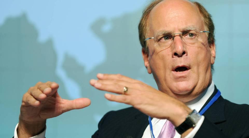 """We believe companies need purpose,"" BlackRock CEO Larry Fink says."