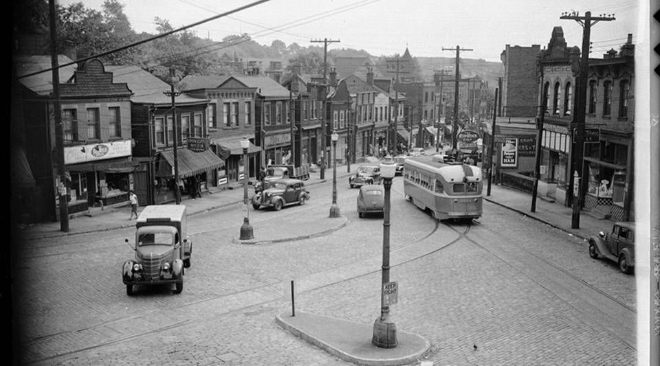 "In the Hill District of the 1940s, Herron Avenue marked the boundary between the upper-class ""Sugartop"" neighborhood and the working-class ""Middle Hill."""