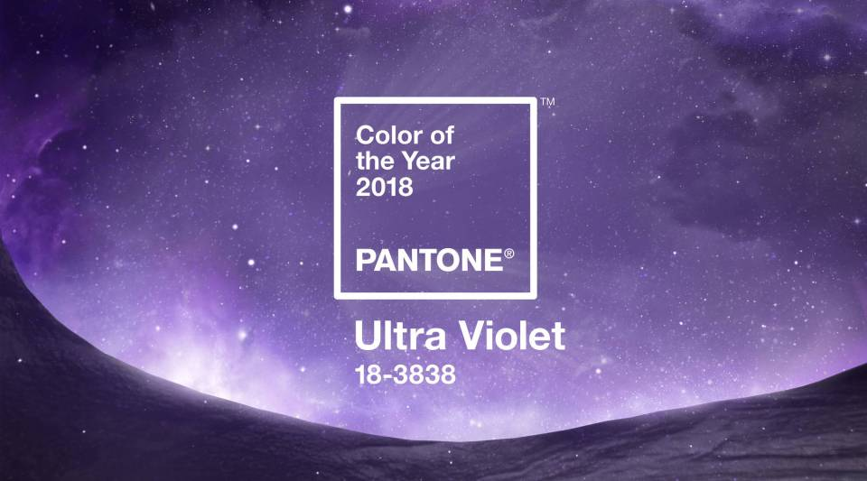 The Pantone Color of the Year: Ultra Violet.