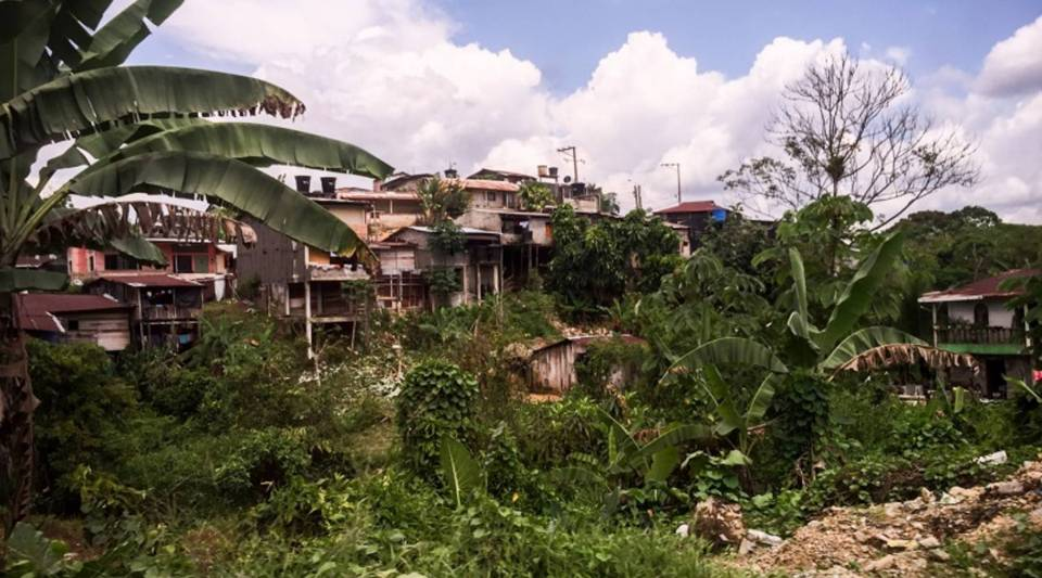 Quibdó, the capital of the rural department of Chocó, in Colombia, has the highest number of internally displaced people from the violence of the country's long civil war.