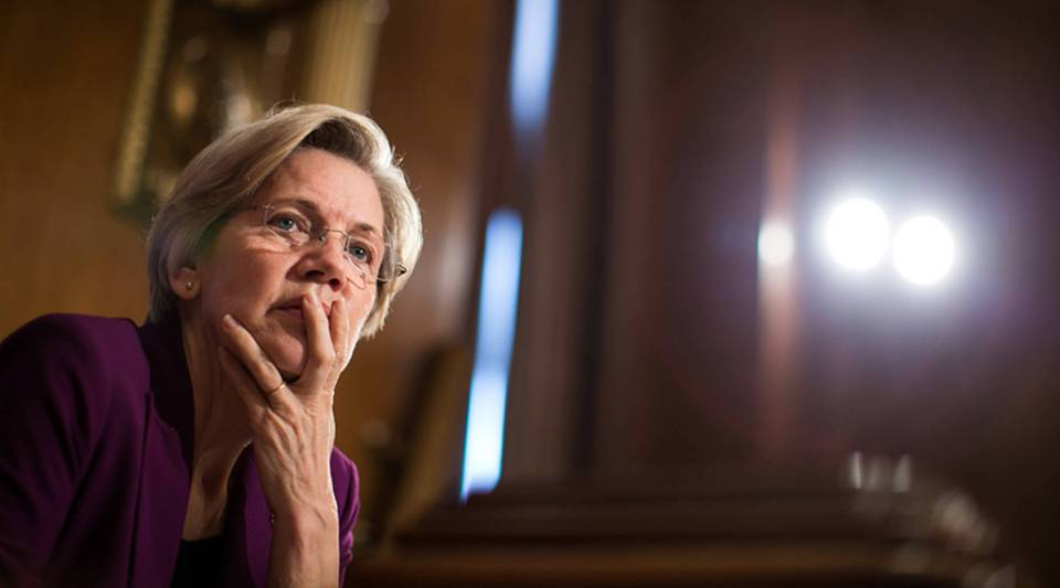 Massachusetts Sen. Elizabeth Warren, above, and Virginia Sen. Mark Warner are introducing legislation that would levy harsh penalties for security breaches at credit-rating agencies.