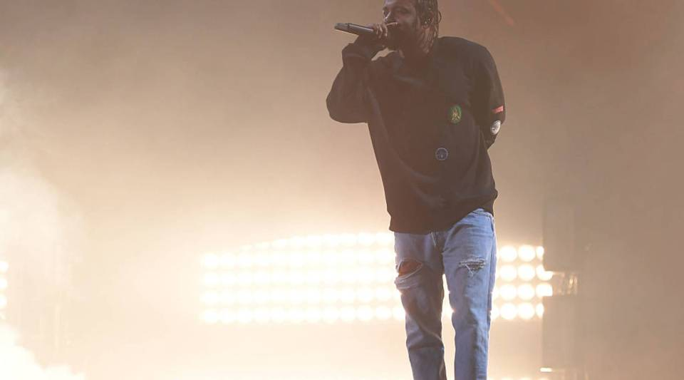 Rapper Kendrick Lamar performs at the 2016 Global Citizen Festival in Central Park to end extreme poverty by 2030 at Central Park on September 24, 2016 in New York City.