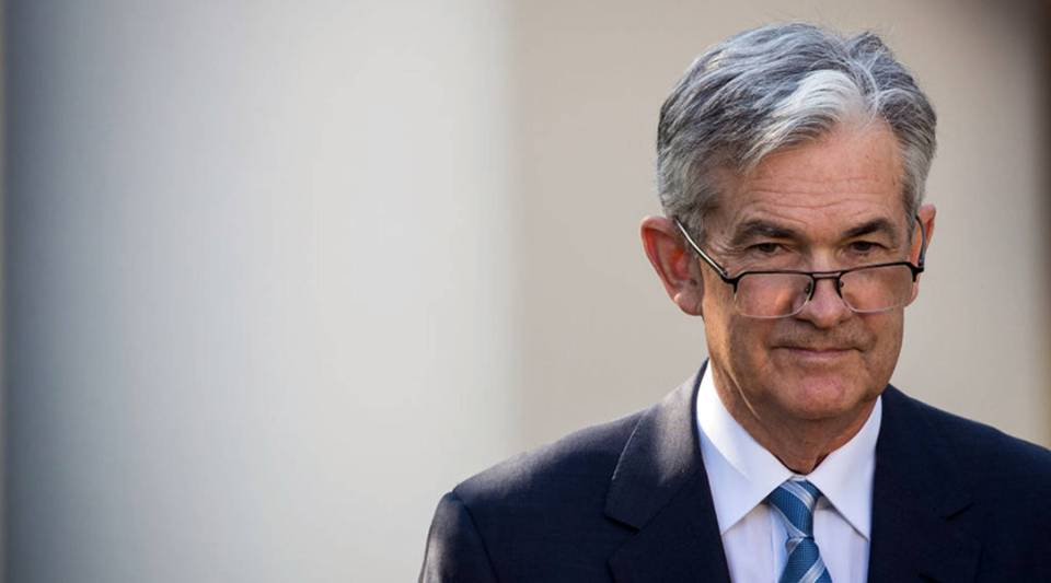 Jerome Powell will be sworn in as chair of the Federal Reserve on Monday.