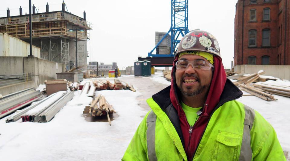 """""""You just gotta suck it up,"""" said Kai Yee, a laborer in Cleveland, Ohio when asked how he deals with extreme cold. """"If [you] can't do the job, they'll bring somebody else who can. Everybody's replaceable."""""""
