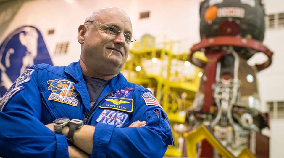 "Astronaut Scott Kelly says he's proof that someone who is ""far from a genius"" can become a scientist."