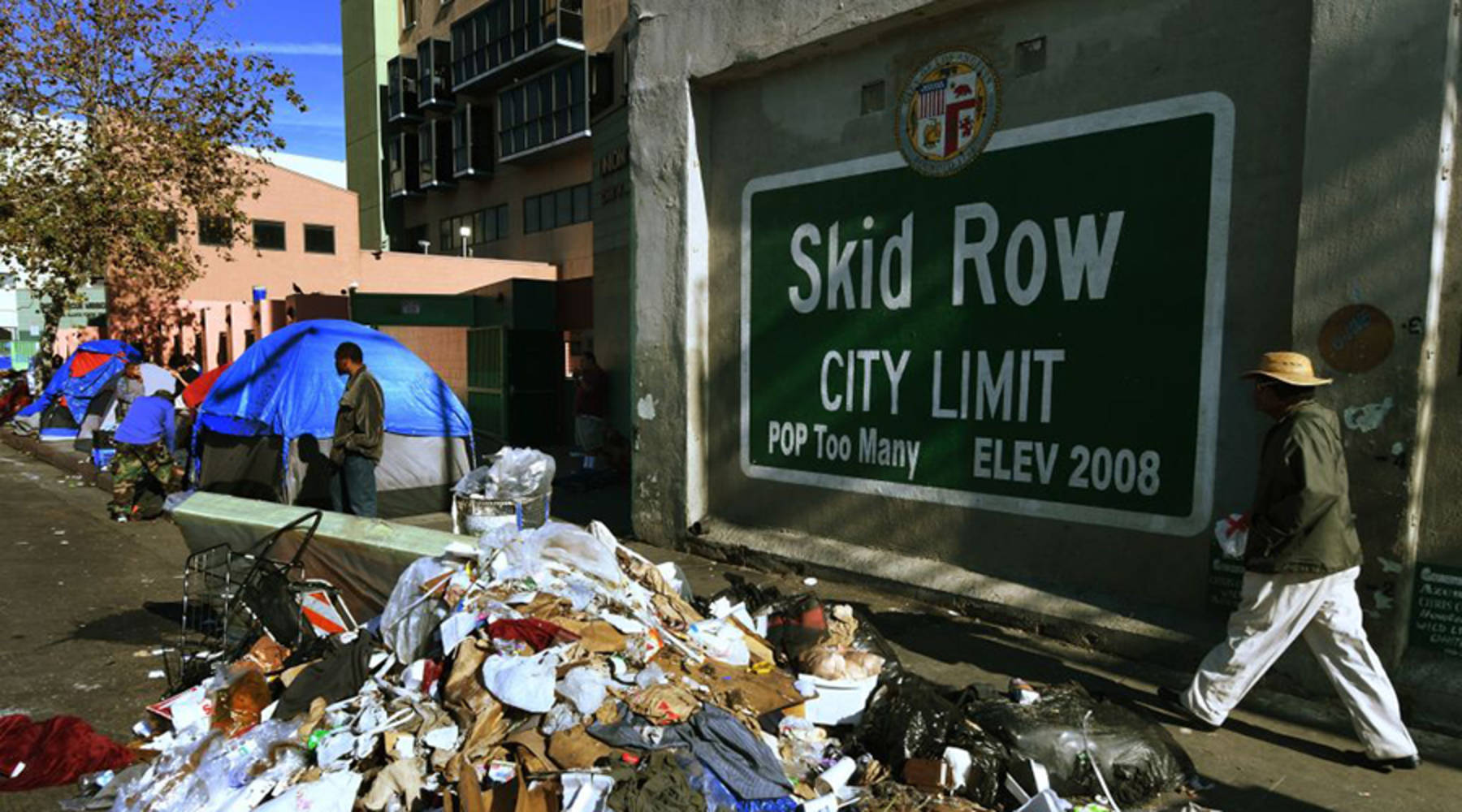 Los Angeles struggles to house homeless amid Section 8