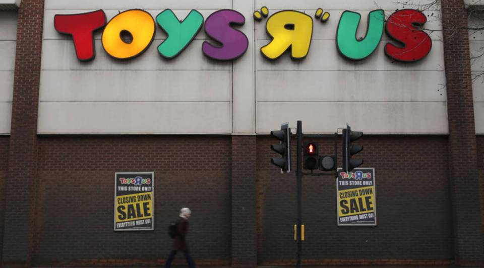 Toys R Us is closing about a fifth of its stores.