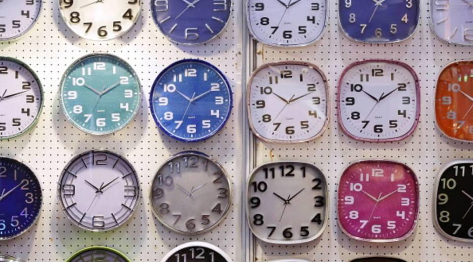 So many clocks, so little time.