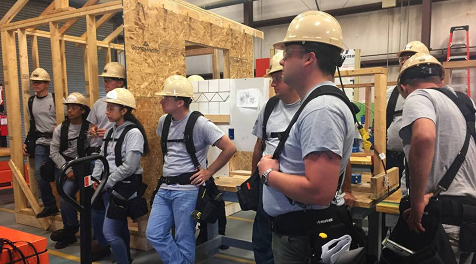 Students at Fort Stewart will be prepared for residential construction jobs after a 12-week apprenticeship with the Home Builders Institute, sponsored by the Home Depot Foundation.