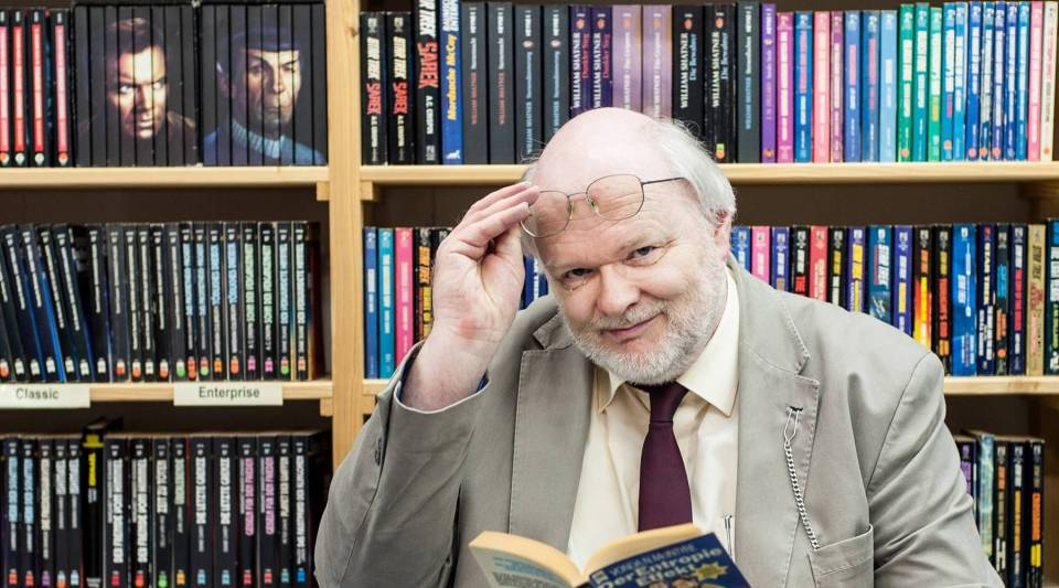 Fantastic Library founder Thomas Le Blanc has built a sci-fi and fantasy collection of more than 280,000 titles over the past three decades.