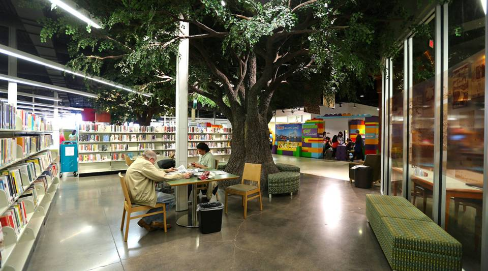 A state-of-the-art Midland Public Library was built using sales tax money.