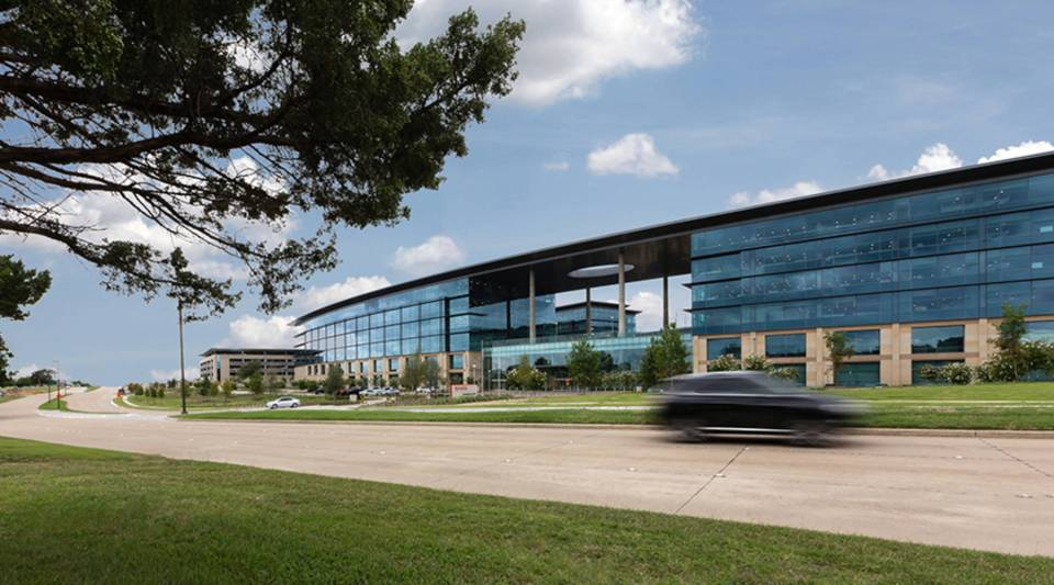 Toyota was offered more than $50 million in financial incentives and tax abatements from the Texas Enterprise Fund and the city of Plano to move its North American headquarters to Plano, above.