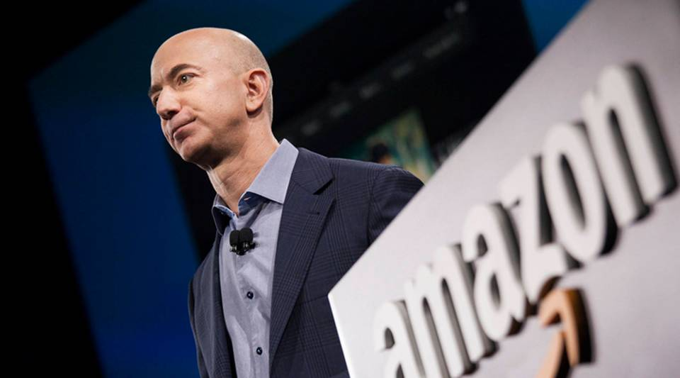 Later this month, Amazon shareholders will vote on a proposal recommending the company implement the Rooney Rule for finding new members of its board of directors. Above, Amazon founder and CEO Jeff Bezos.