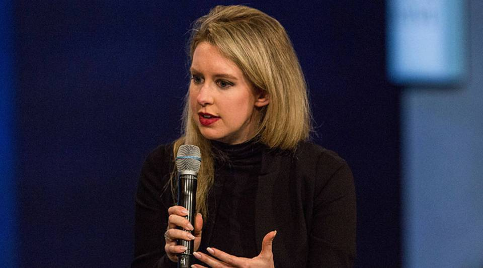 Elizabeth Holmes, founder and CEO of Theranos, speaks at the Clinton Global Initiative's closing session on September 29, 2015 in New York City.