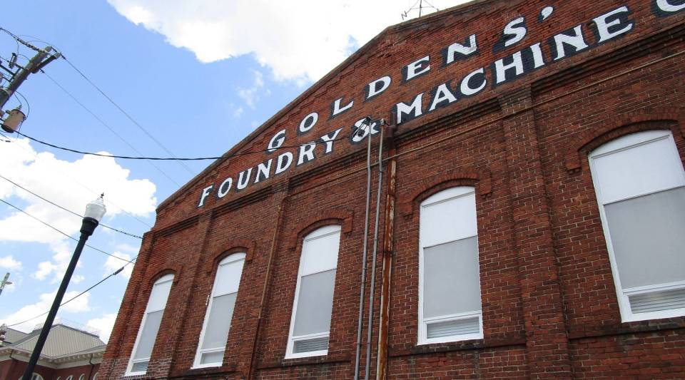 Goldens' Foundry and Machine Co. is a fifth-generation family-owned business in Columbus, Georgia.