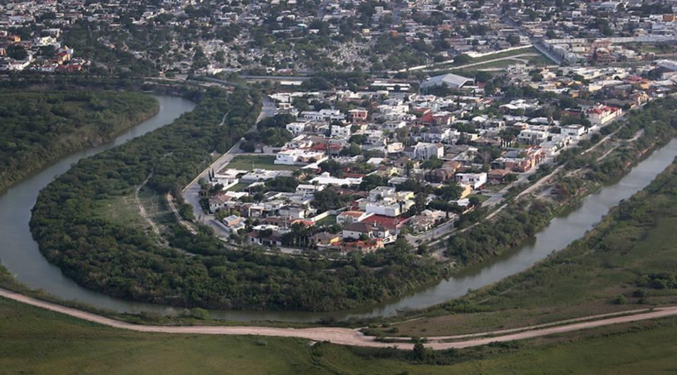The Mexican border town of Matamoros is on the Rio Grande, across the U.S.-Mexico border near Brownsville, Texas.