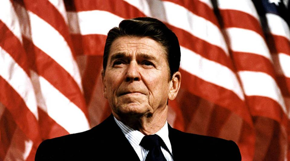 """""""Our peaceful trading partners are not our enemies. They are our allies,"""" President Ronald Reagan said in 1988."""
