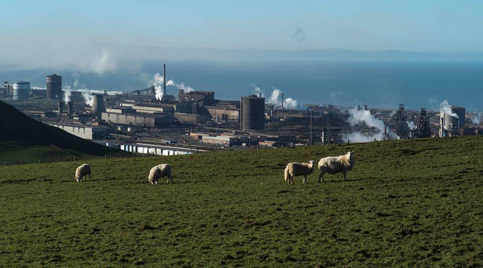 In Port Talbot, Wales, the sale of the Tata Steel plant put thousands of jobs at risk and hit the already floundering U.K. steel industry hard in 2016.