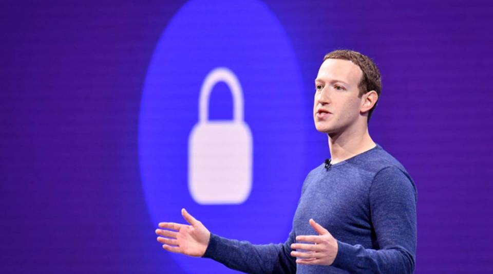 Facebook CEO Mark Zuckerberg speaks during the annual F8 summit at the San Jose McEnery Convention Center in San Jose, California, on May 1.