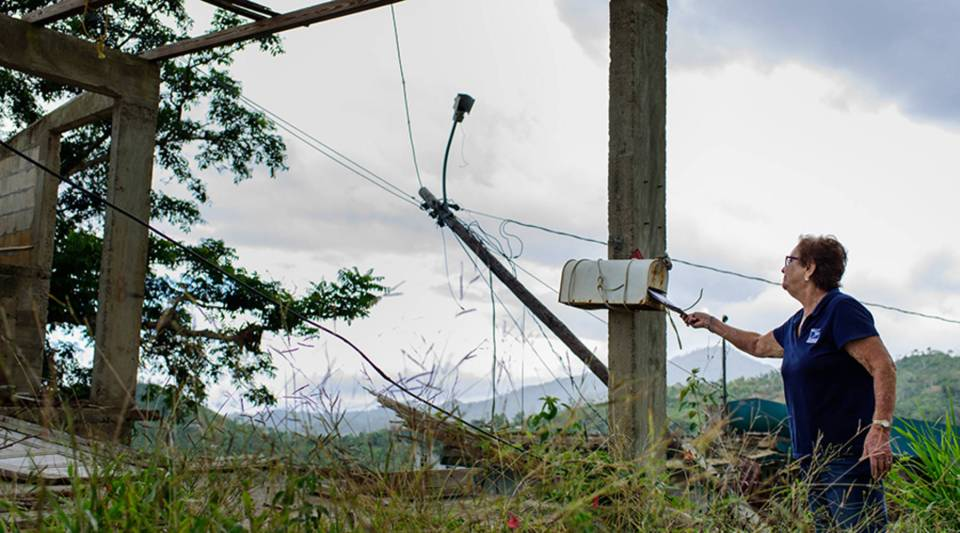 Months after the storms, many communities on the island have no electricity.