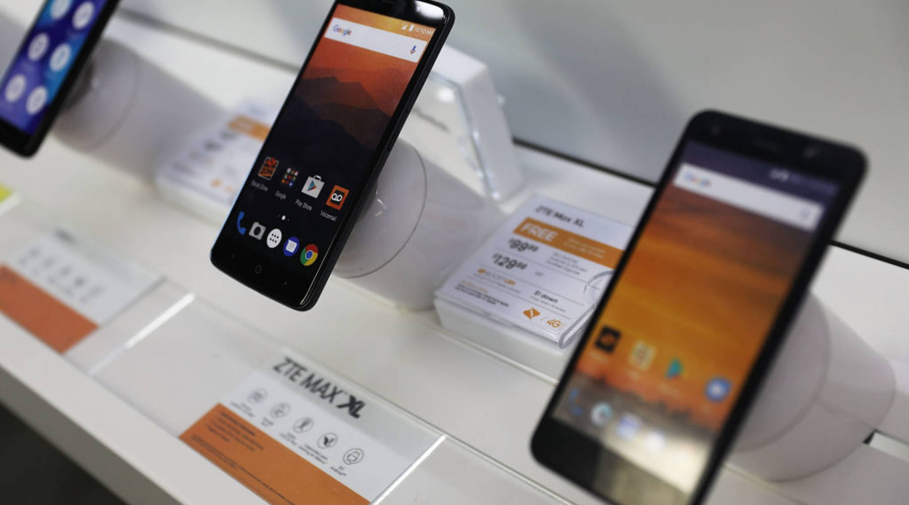 The U S  strikes a deal with Chinese electronics giant ZTE - Marketplace