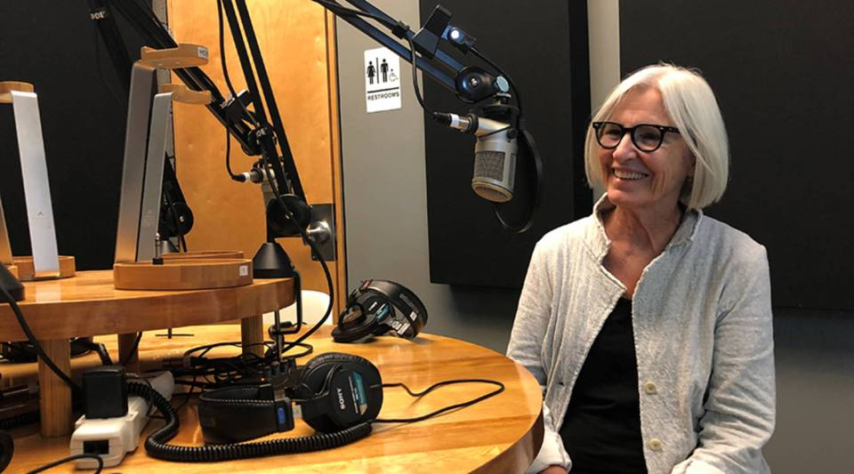 """I'm more of a listener. I lead very loosely, kind of from the side. I try to give people freedom as much as possible,"" says Eileen Fisher."
