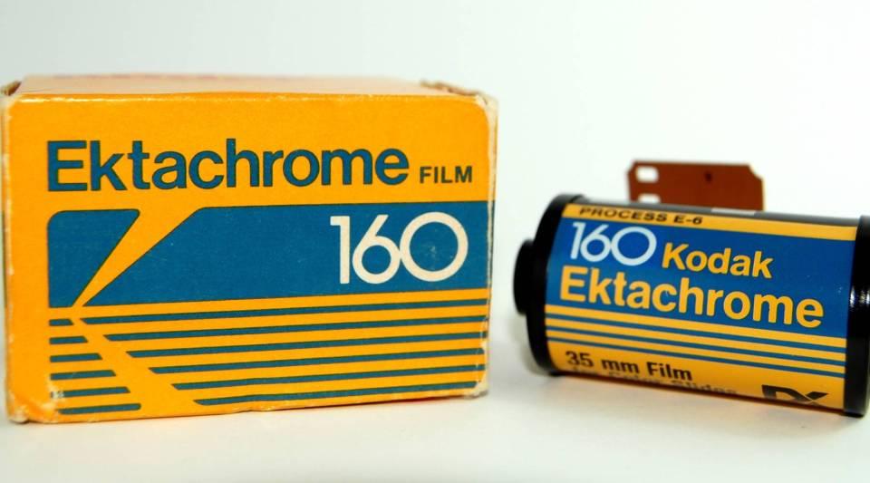 Old Ektachrome 160 film.