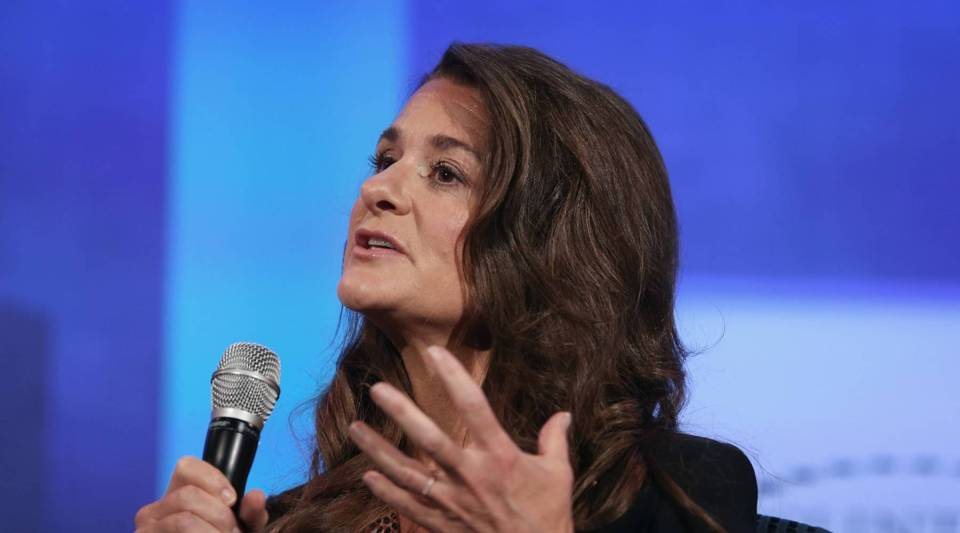 Melinda Gates is trying to get more women and minorities in tech.