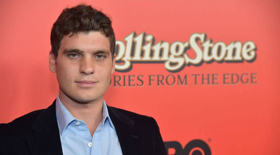 Gus Wenner attends 'Rolling Stone Stories From The Edge' World Premiere at Florence Gould Hall on October 30, 2017 in New York City.