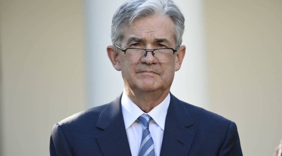 Jerome Powell listens as President Trump announces Powell as nominee for Chairman of the Federal Reserve in the Rose Garden of the White House in Washington, DC, November 2, 2017.