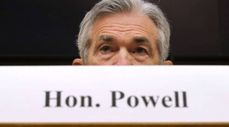 Federal Reserve Board Chairman Jerome Powell testifies before the House Financial Services Committee in the Rayburn House Office Building on Capitol Hill Feb. 27, 2018 in Washington, D.C.