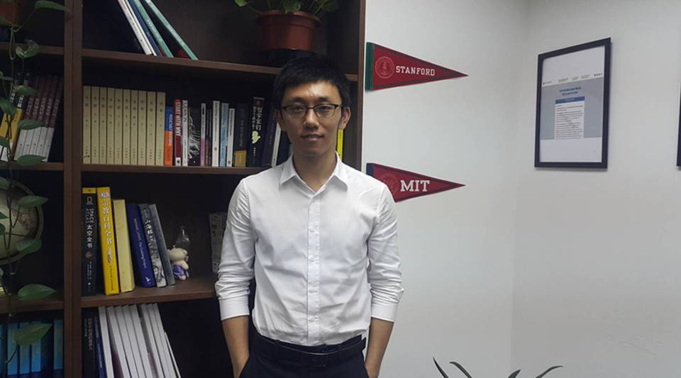 Education consultancy Focus International's William Yan said business is still booming despite U.S. visa restrictions.