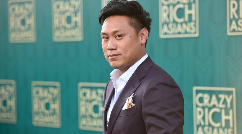 "Jon M. Chu attends the premiere of Warner Bros. Pictures' ""Crazy Rich Asians."""