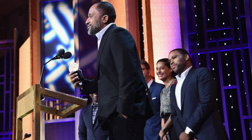 Kenya Barris speaks onstage at The 75th Annual Peabody Awards Ceremony on May 21, 2016 in New York City. Barris signed a $100 million deal with Netflix.