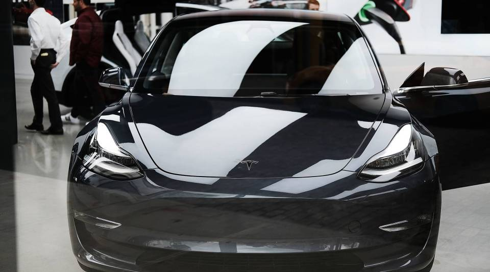 The day Tesla announced it was rolling out its new Model 3, Tesla stock had its best day since November 2015.