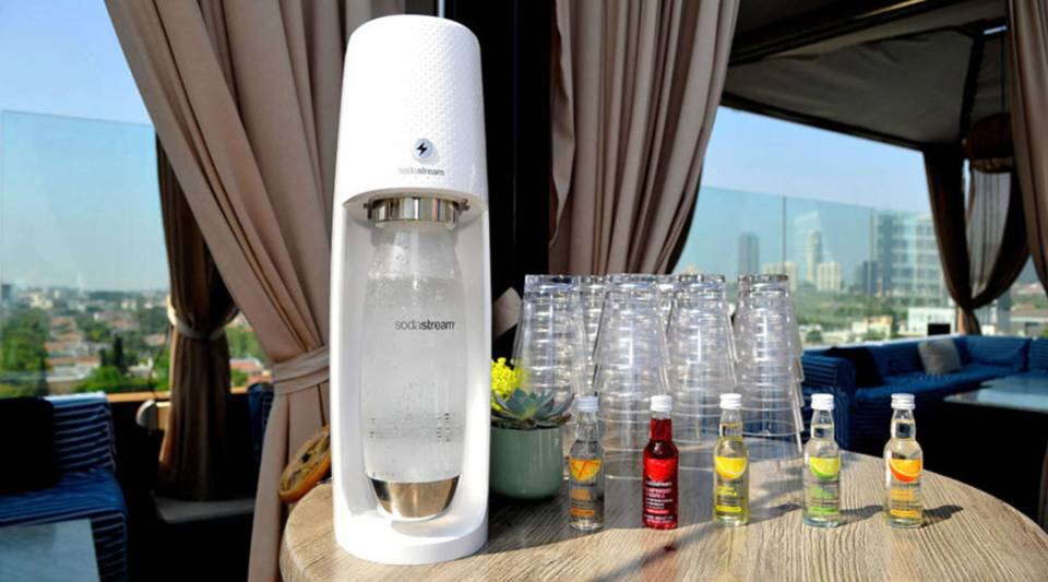 A general view at SodaStream's celebration of National Hydration Day on June 20, 2018 in Beverly Hills, California.