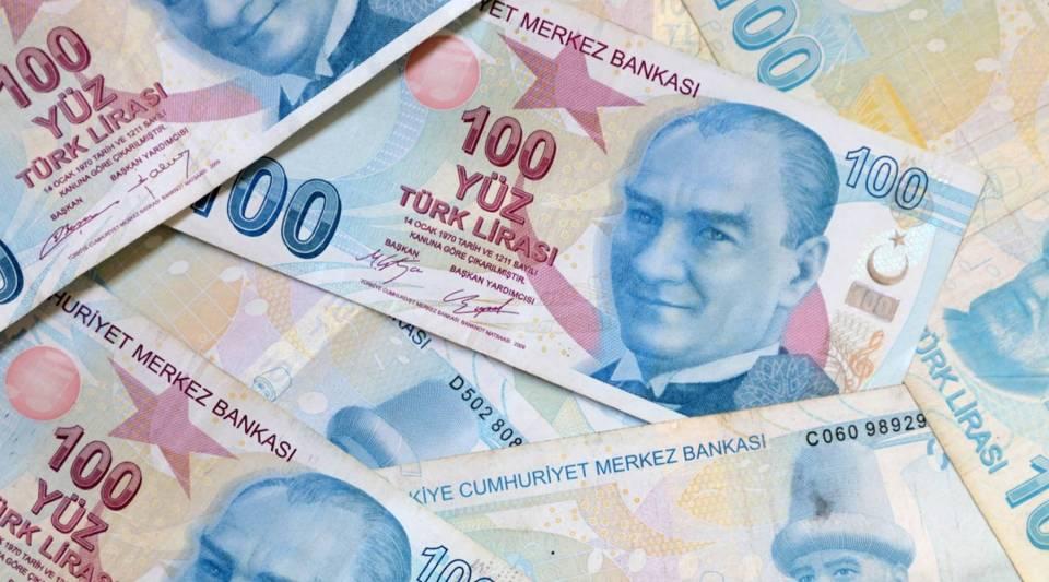 A view of Turkish Lira.