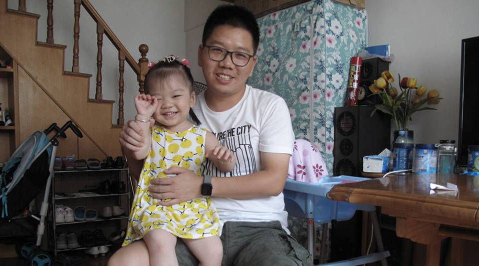 For the sake of his daughter Yao Yao, Chen Jun said he's always on the lookout to upgrade his skills and improve his financial prospects by buying things like educational podcasts.