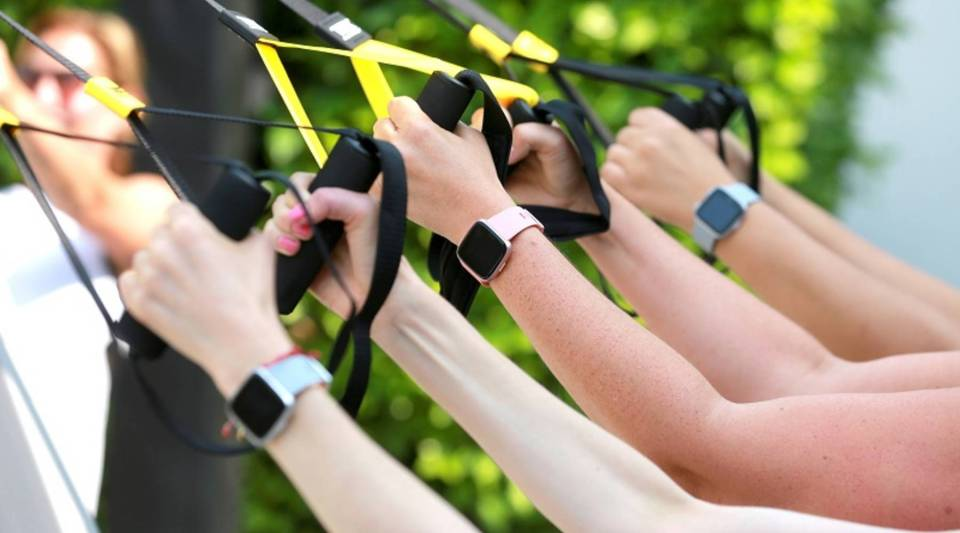Participants who wear monitoring devices like the ones above can get cheaper premiums or rewards from John Hancock.