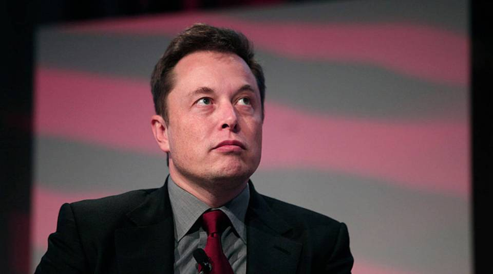 Elon Musk, co-founder and CEO of Tesla Motors, speaks at the 2015 Automotive News World Congress in Detroit.