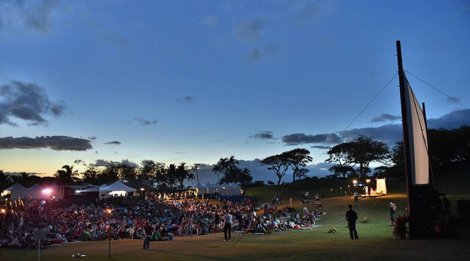 Guests attend the 2016 Maui Film Festival At Wailea at the Celestial Cinema on June 19, 2016 in Wailea, Hawaii.