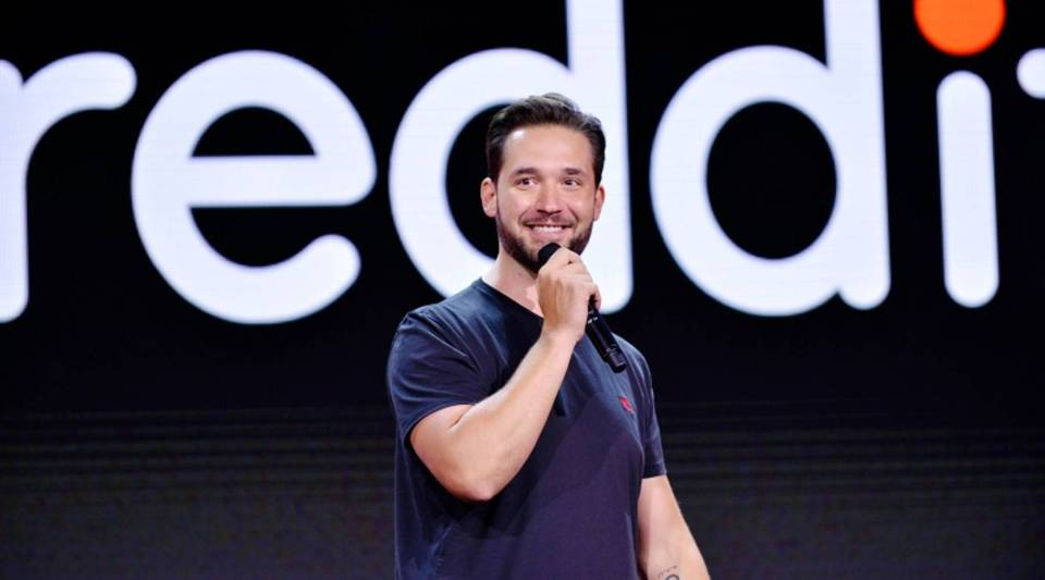 Alexis Ohanian, one of Reddit's co-founders, attends WORLDZ Cultural Marketing Summit 2017 in Los Angeles.