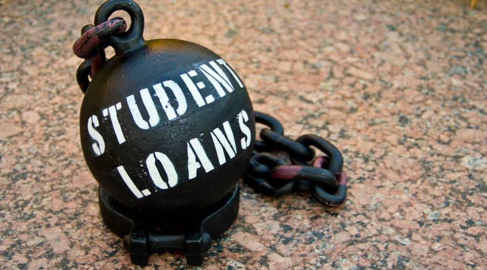 Are you weighed down by student debt?