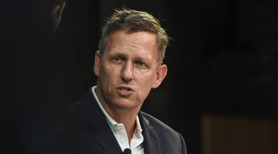 "Peter Thiel is the co-founder of Palantir, named for a crystal ball in the ""Lord of the Rings"" trilogy."