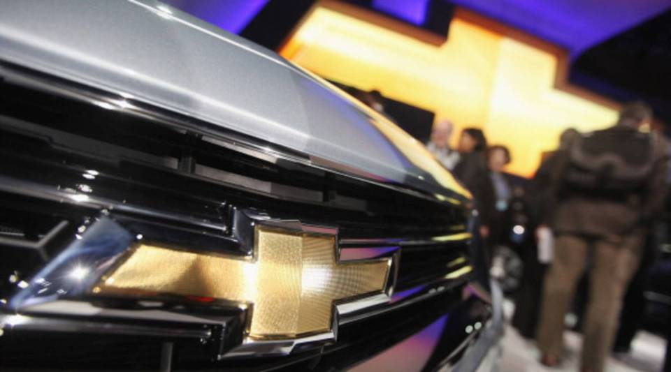 The newly unveiled 2014 Chevrolet Impala is diaplayed at the New York International Auto Show at the Jacob Javits Convention Center on April 4, 2012 in New York City.